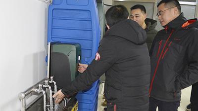 威航动态|热烈欢迎DAB中国区销售总监和技术总监来我司考察