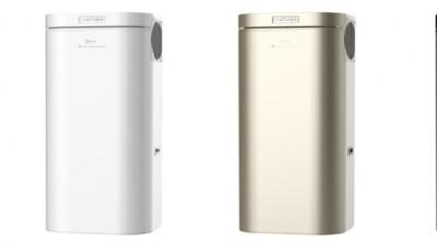 美的空气能中央热水应用于高端自建房
