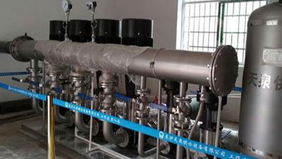 河南三门峡卢氏县地灵矿业供水设备改造