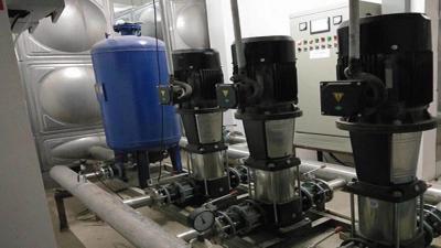 长沙华电小区智能变频供水项目