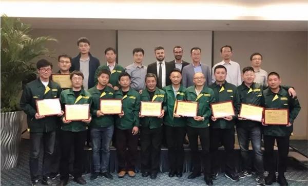 戴博中国2018年度售后服务培训