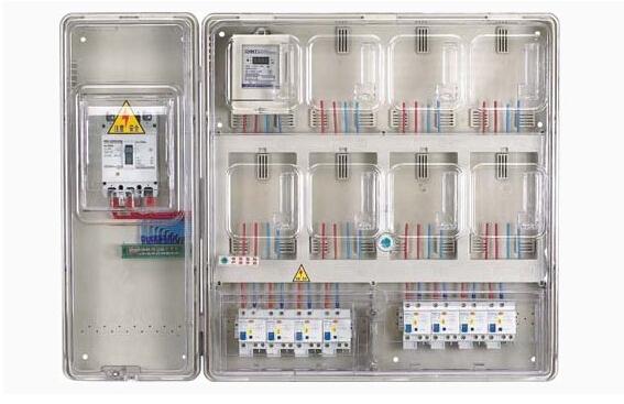 透明电表箱