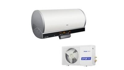 海尔空气能中央热水应用于洋房