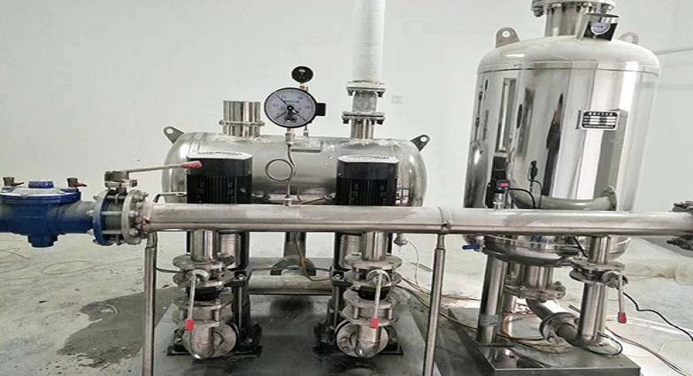 河南某县第一高级中学供水改造无负压供水设备