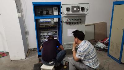 老兵聊电之---喜讯:慈利县丰达凯莱物业选用威航水泵变频控制柜